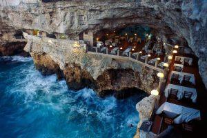 Dramatic dining in Puglia