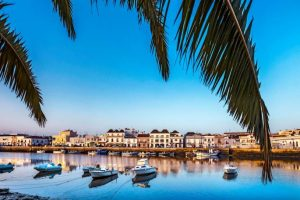 The River Gilao flows through Tavira