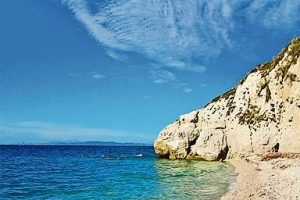 Capo Bianco on the island of Elba