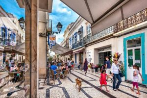The old town in Olhao